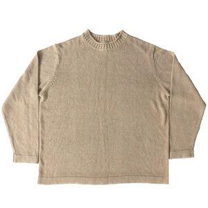 L.L. Bean Cotton Linen Crewneck Sweater